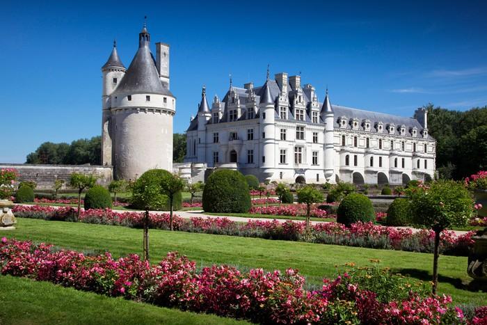 Vinyl-Fototapete Chenonceau Schloss Loire-Tal - Themen
