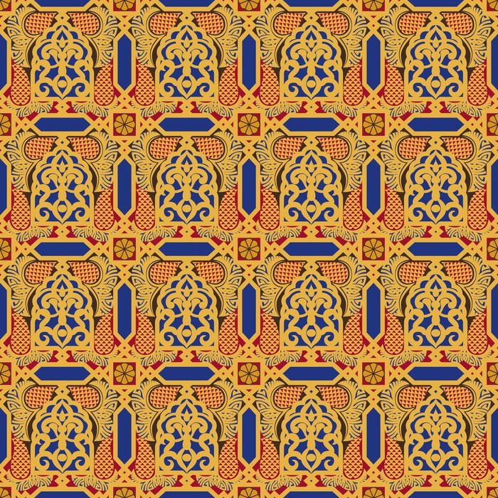 Vinylová Tapeta Arabština bezešvé vzor - Pozadí