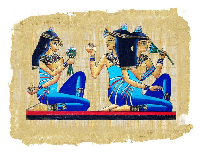 Egyptian papyus wall mural pixers we live to change for Egyptian wall mural