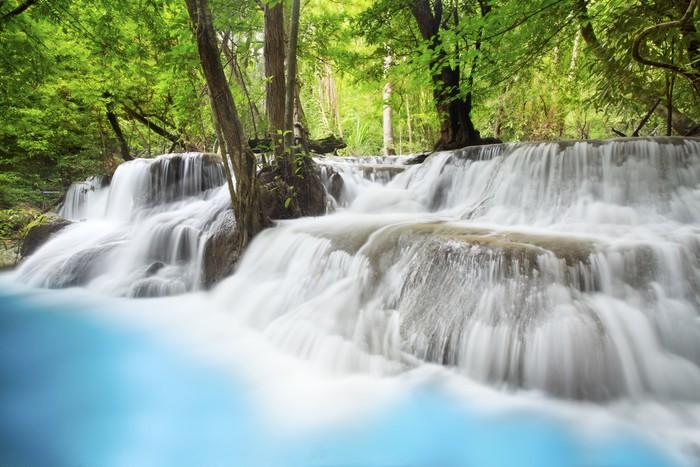 Vinylová Tapeta Erawan Waterfall - Témata