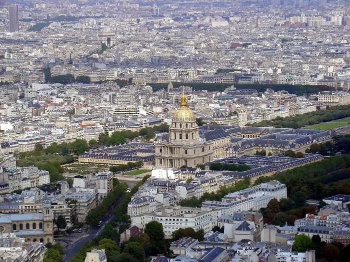 Vinylová Tapeta Paris panoráma - Evropská města