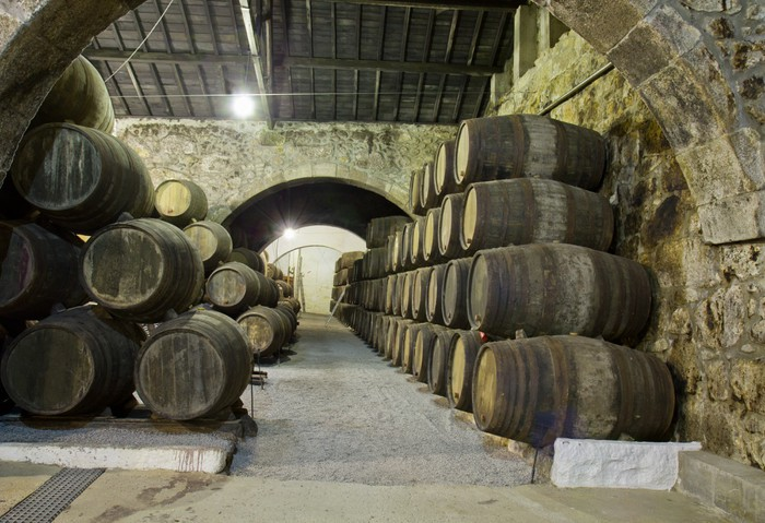 Vinylová Tapeta Wine cellar - Doplňky