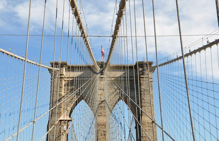 Vinylová fototapeta Brooklynský most - Vinylová fototapeta