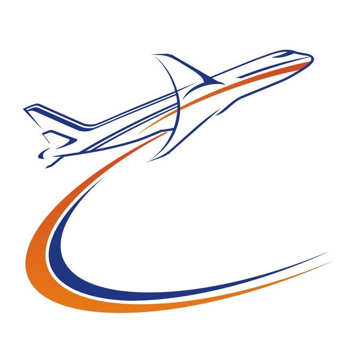 Vinylová Tapeta Letecká logo - Vzduch