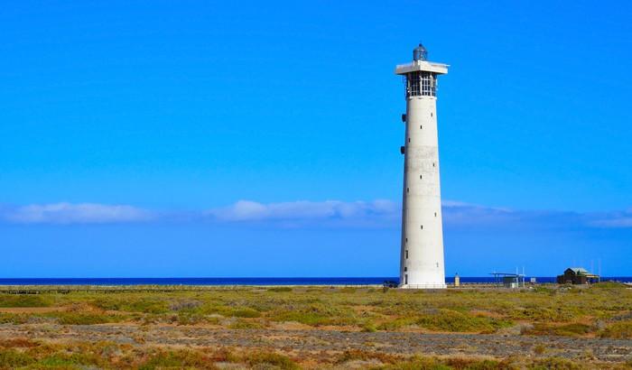 Vinylová Tapeta Maják Morro Jable na ostrově Fuerteventura, Kanárské ostrovy, Španělsko - Evropa