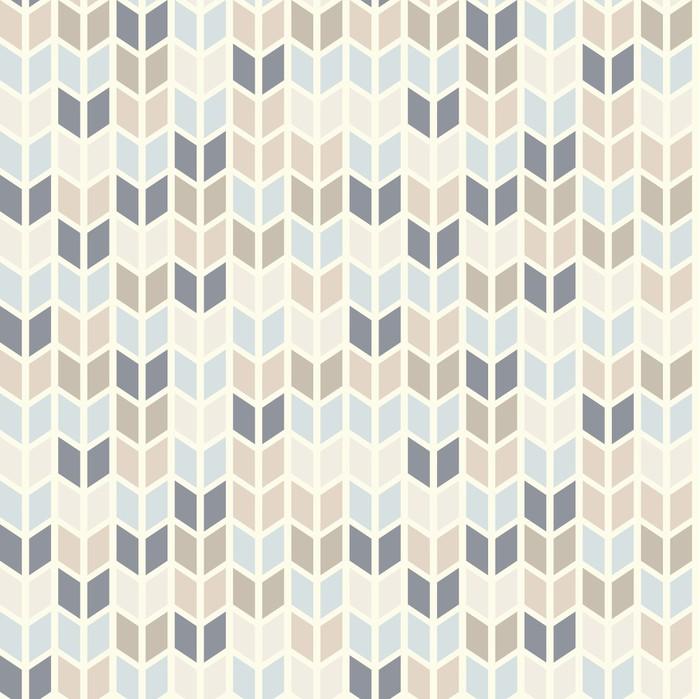 Papier Peint Vinyle Seamless géométrique dans des teintes pastel - Thèmes