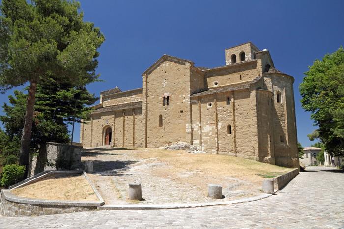 Vinylová Tapeta Katedrála San Leo, Emilia Romagna - Evropa