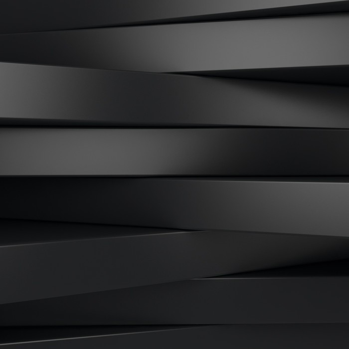 Vinylová Tapeta Černé panely - Pozadí