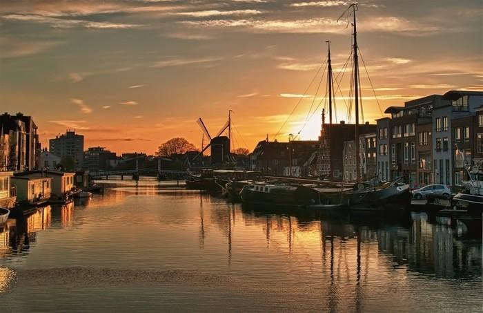 Vinylová Tapeta Hdr ... utrpení ... Nizozemsko - Prázdniny