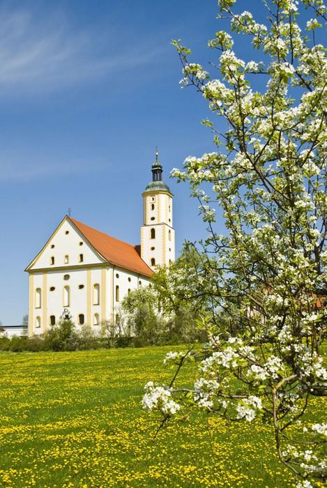 Vinylová Tapeta Wallfahrtskirche Maria Brünnlein - Památky