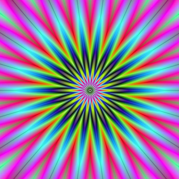 Vinylová fototapeta Hvězda Flower - Vinylová fototapeta