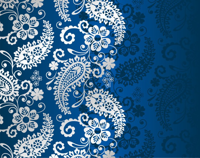 papier peint paisley motif floral textile rajasthan inde royale pixers nous vivons pour. Black Bedroom Furniture Sets. Home Design Ideas