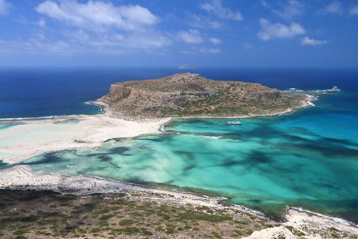 Vinylová Tapeta Balos beach na ostrově Kréta v Řecku - Témata