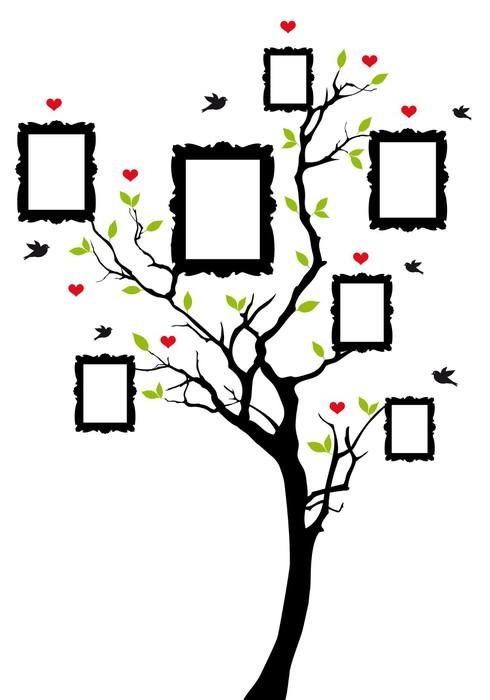 Výsledek obrázku pro rodokmen strom vzor
