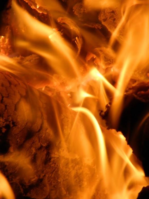 Vinylová Tapeta Flames nebo požáru - Struktury