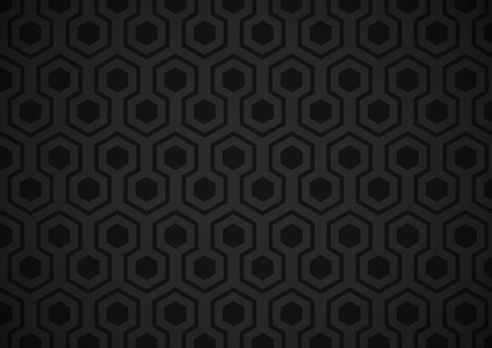 Papier peint Hexagone Wall Mural • Pixers® • We live to change