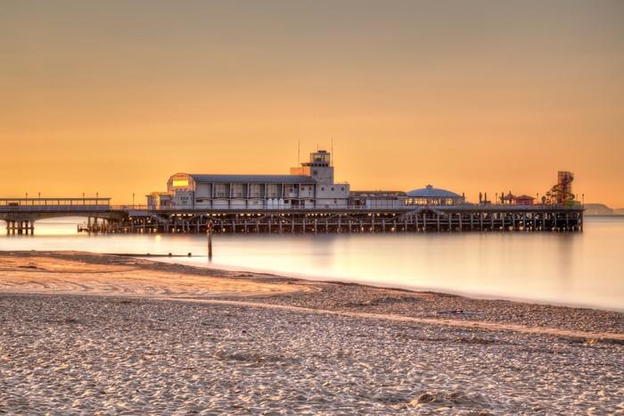 Vinylová Tapeta Bournemouth Pier Sunrise - Evropa