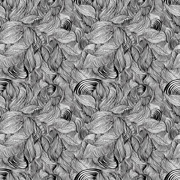 Vinylová Tapeta Abstraktní linie bezešvé vzor. - Pozadí