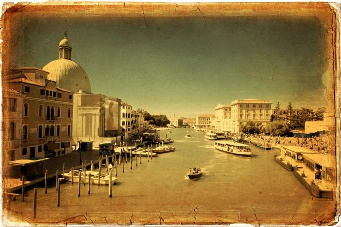 Vinylová Tapeta Benátky, Canal Grande - Evropská města