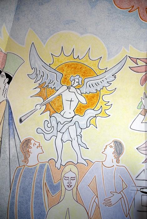 Vinylová Tapeta Détail de Notre-Dame de Jeruzalém (Fréjus) - Jiné pocity