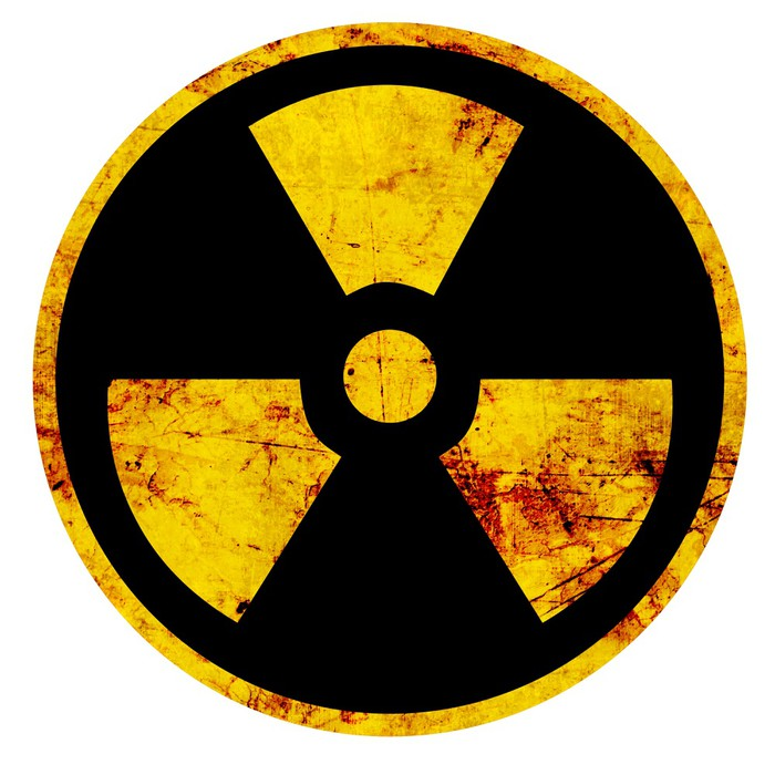 Nuclear Sign Sticker Pixers We Live To Change