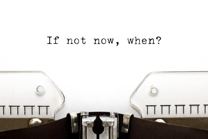 Papier Peint Vinyle Typewriter If Not Now Quand - Concepts