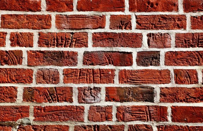 Vinylová Tapeta Staré cihlové zdi - Pozadí