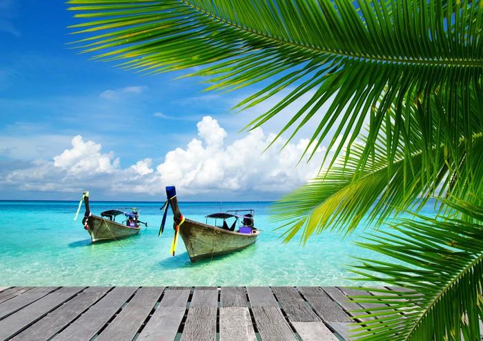 Adesivo Pixerstick Mare tropicale - Bestseller