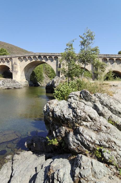 Vinylová Tapeta Korsika, janovské most Ponte lecchia - Evropa