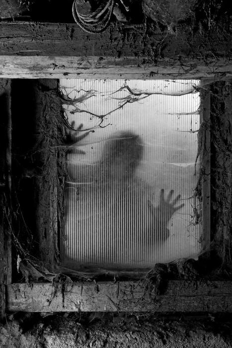 Vinylová Tapeta Scary Halloween pozadí - Témata