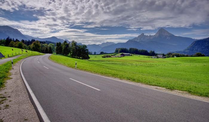 Vinylová Tapeta Silnice v horské krajině - Témata