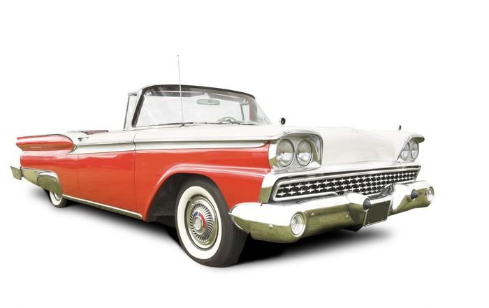 Carta da parati isolato auto americana anni 39 50 pixers for Carta da parati anni 50