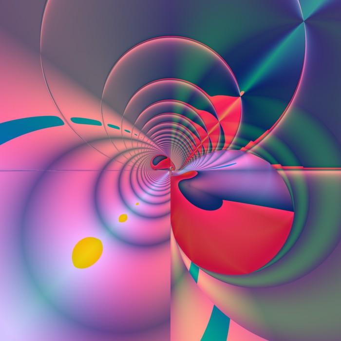 Nálepka Pixerstick Magic flower - Pozadí