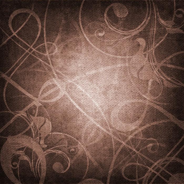 Vinylová Tapeta Ornament na plátně struktuře - Umění a tvorba