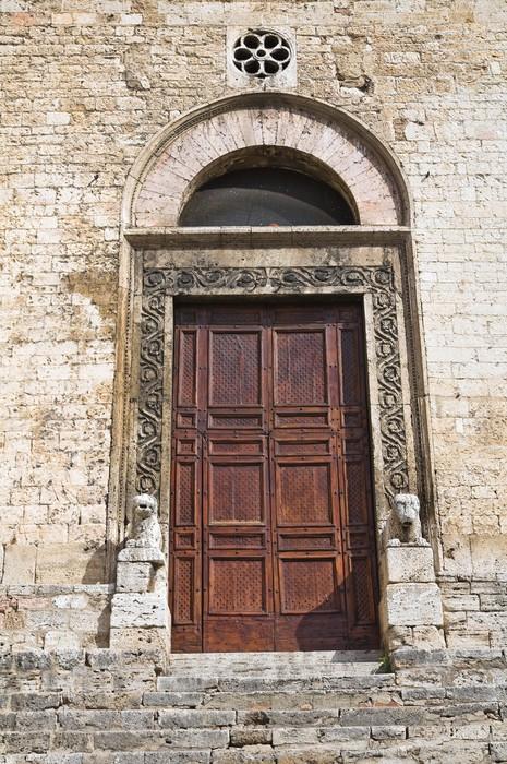 Vinylová Tapeta Katedrála sv Giovenale. Narni. Umbria. Itálie. - Prázdniny