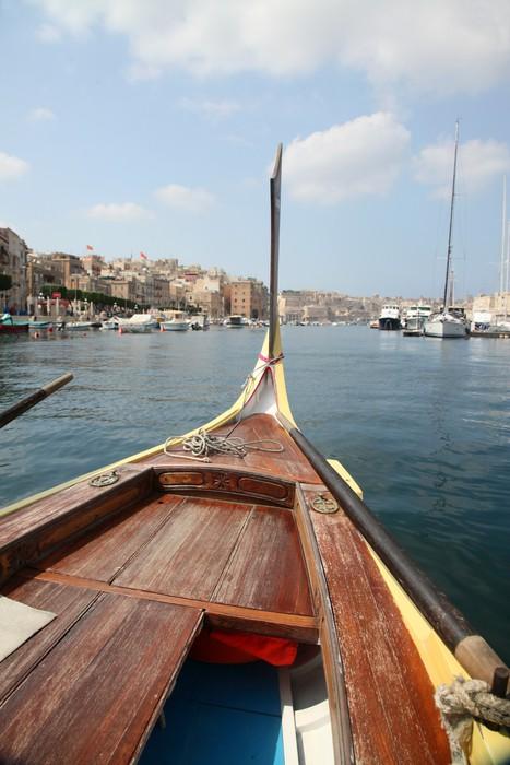 Vinylová Tapeta Maltese Dghajsa vodní taxi - Lodě