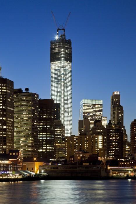 Vinylová Tapeta Věž svobody v New Yorku - Amerika