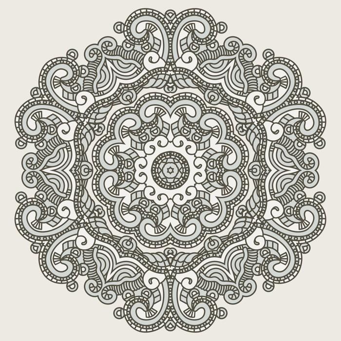 papier peint motif ethnique d 39 ornement pixers nous. Black Bedroom Furniture Sets. Home Design Ideas