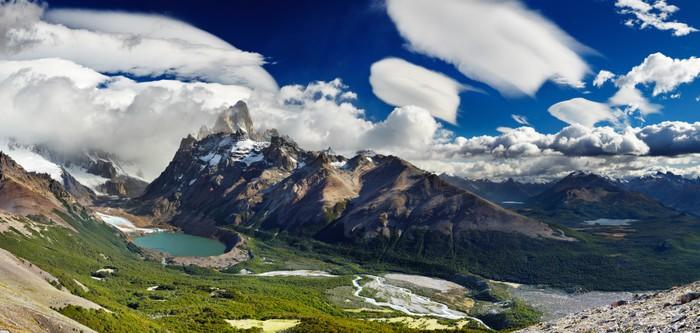 Vinylová Tapeta Mount Fitz Roy, Patagonia, Argentina - Témata