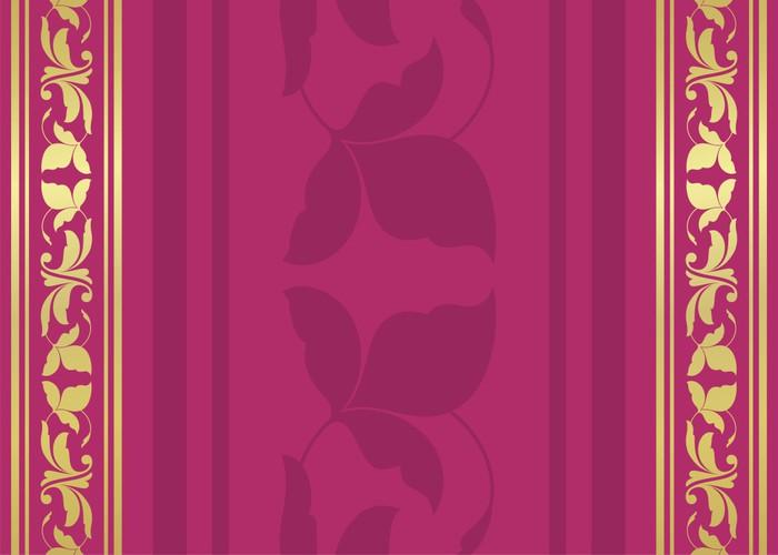 Vinylová Tapeta Paisley květinovým vzorem, svatba šablony design, Indie - Styly