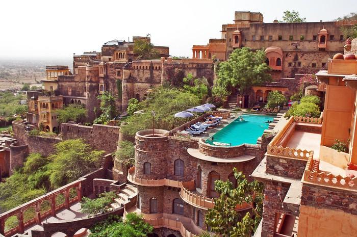 Vinylová Tapeta Neemrana Fort Palace, Rajasthan, Indie - Asie
