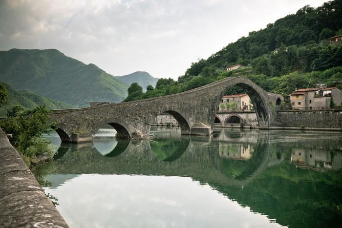 Vinylová Tapeta Ponte della Maddalena, Itálie - Témata
