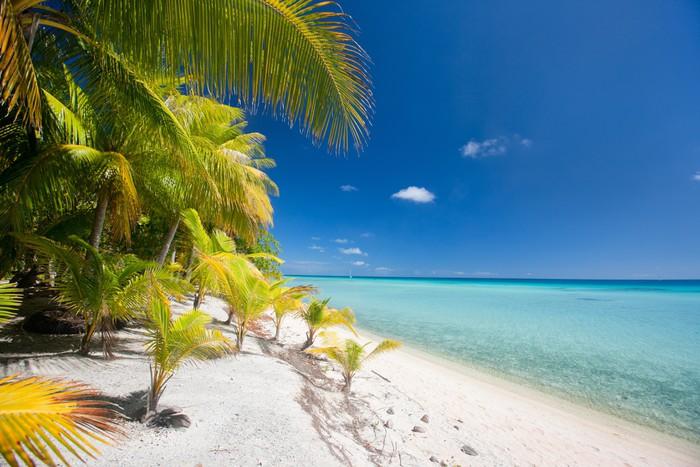 Vinylová Tapeta Ohromující tropické pláže - Prázdniny