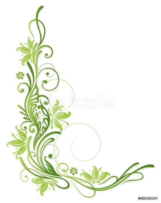 Vinilo pixerstick primavera marco hojas hojas vid - Marcos para plantas ...