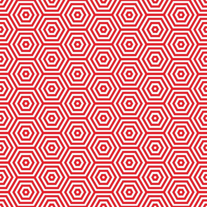 Sticker Retro Rouge Seventies Modele Pixers Nous Vivons Pour
