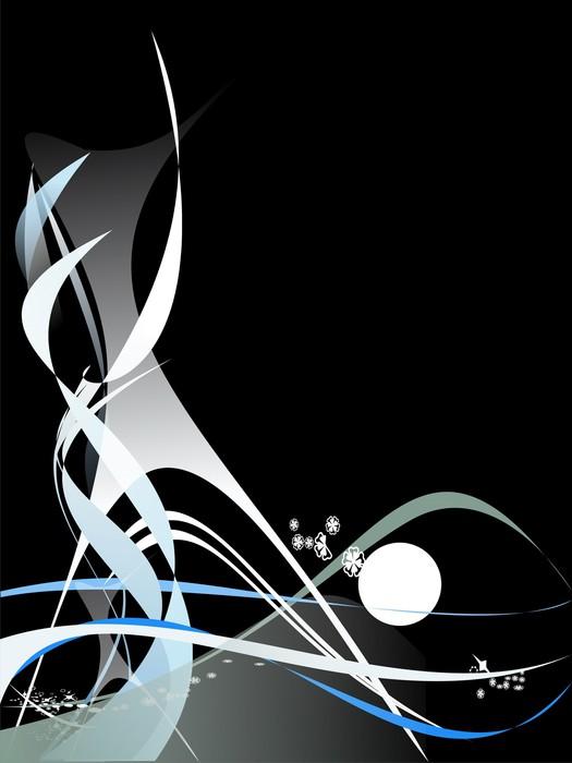 Vinylová Tapeta Abstraktní pozadí - Abstraktní