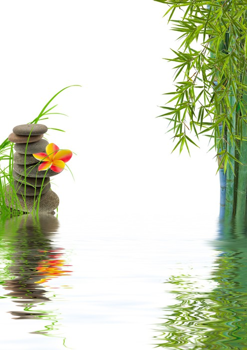 Fototapete konzept natur entspannung wohlbefinden