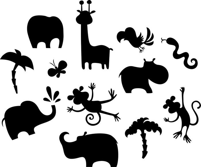 sticker jeu animal africain pixers nous vivons pour