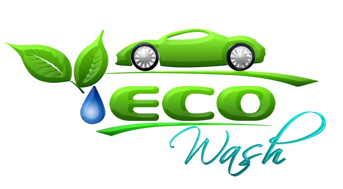 Eco Car Wash Symbol Wall Mural Pixers We Live To Change