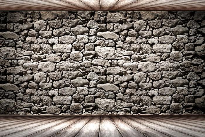 vinilo pared piedra textura pixerstick - Pared Piedra